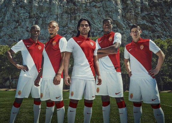 Divisa Monaco 2014-2015 Nike