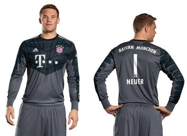 Maglia portiere Bayern 2014-15 Neuer