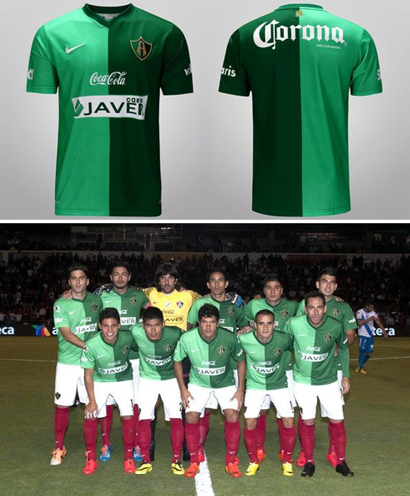 Maglia Atlas verde Messico Nike 2014
