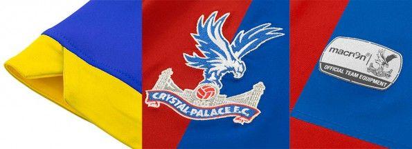 Dettagli maglia Crystal Palace home 14-15
