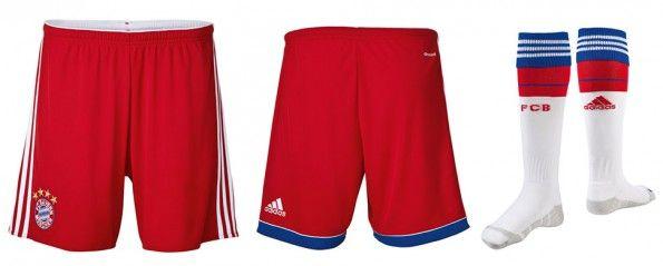 Pantaloncini calzettoni Bayern Monaco home 14-15