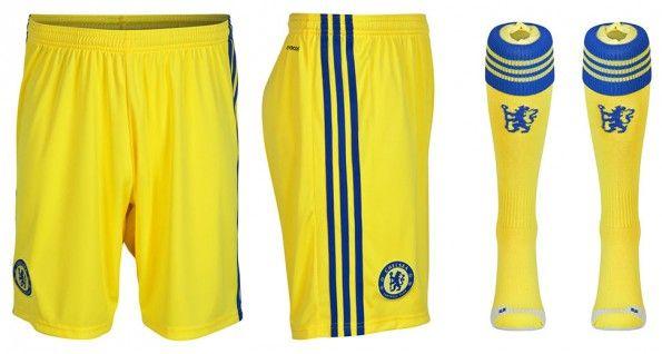 Pantaloncini calzettoni Chelsea away 2014-15