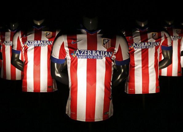 Presentazione maglia Atletico Madrid 2014-15