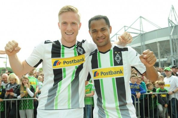 Presentazione della maglia 2014-2015 del Borussia Monchengladbach
