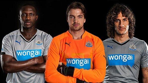 Presentazione maglia Newcastle 2014-2015 trasferta