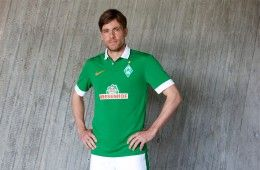 Presentazione maglia Werder Brema 2014-15