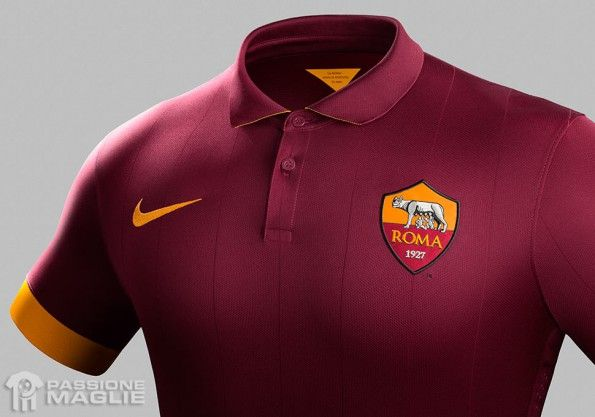 AS Roma 14-15 dettaglio home maglia