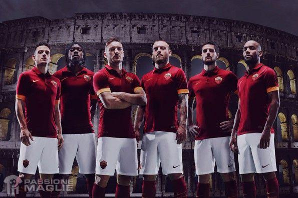AS Roma kit 2014-2015 Nike