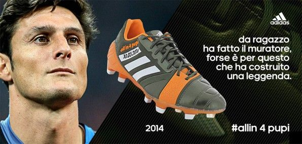 Scarpe Nitrocharge Javier Zanetti adidas