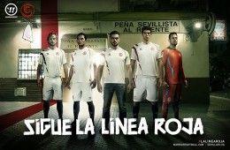 Siviglia maglie 2014-2015, la linea roja