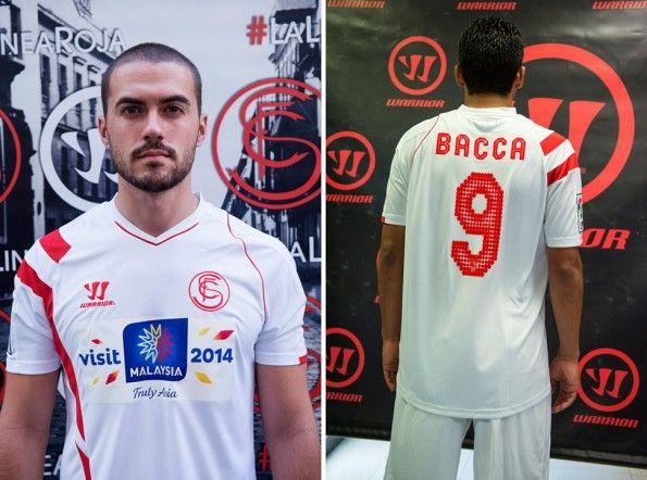 Siviglia 2014-2015, maglia home, sponsor e numeri