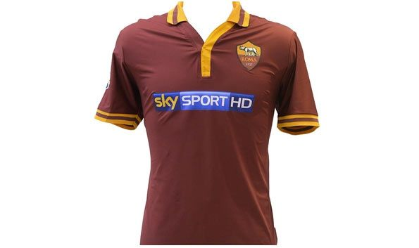 Sky Sport HD sponsor maglia Roma