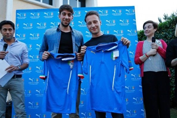 Studenti vincitori concorso IED-Puma