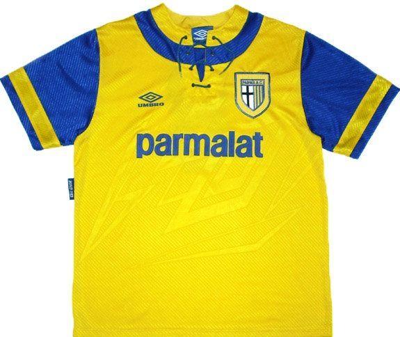 Seconda maglia Parma 1993-1995