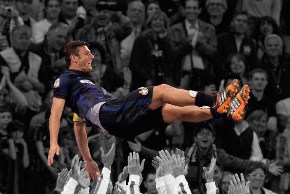 Javier Zanetti in trionfo