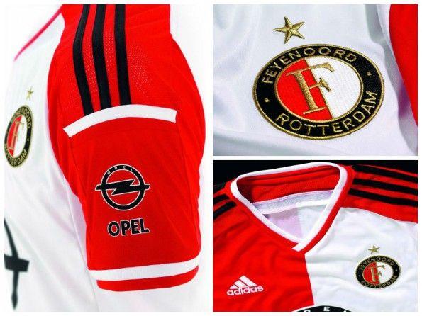 Maglia Feyenoord 2014-2015 dettagli