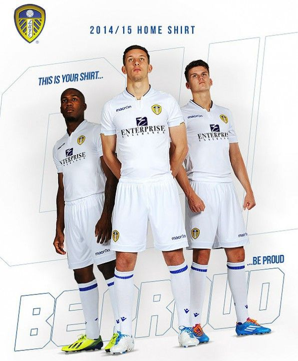 Leeds home kit 2014-15