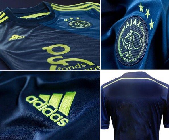 Dettagli seconda maglia Ajax 2014-2015