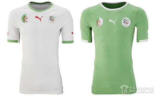 Maglie Algeria Mondiali 2014