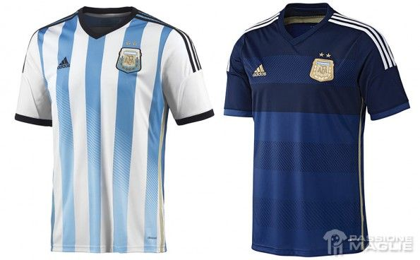 Maglie Argentina Mondiali 2014 adidas