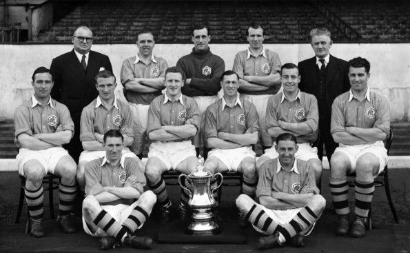 Arsenal, away gialla, FA Cup 1950