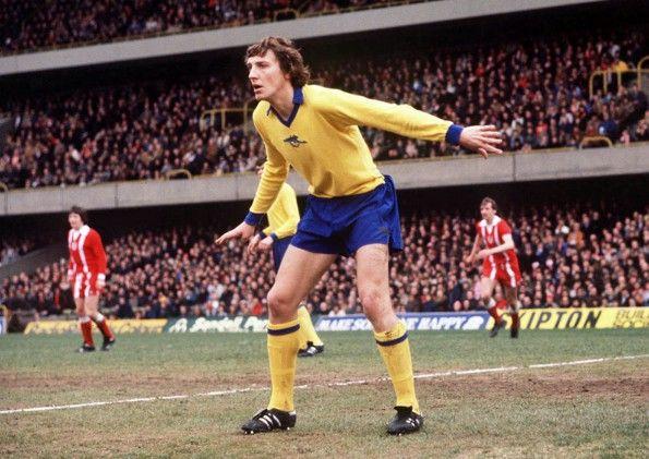 Arsenal, maglia away, 1977-1978