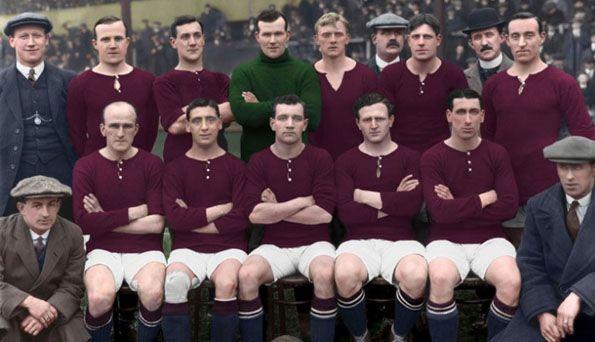 Arsenal, maglia home, 1913
