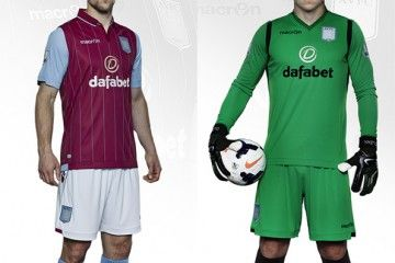 Kit Aston Villa 2014-2015 home