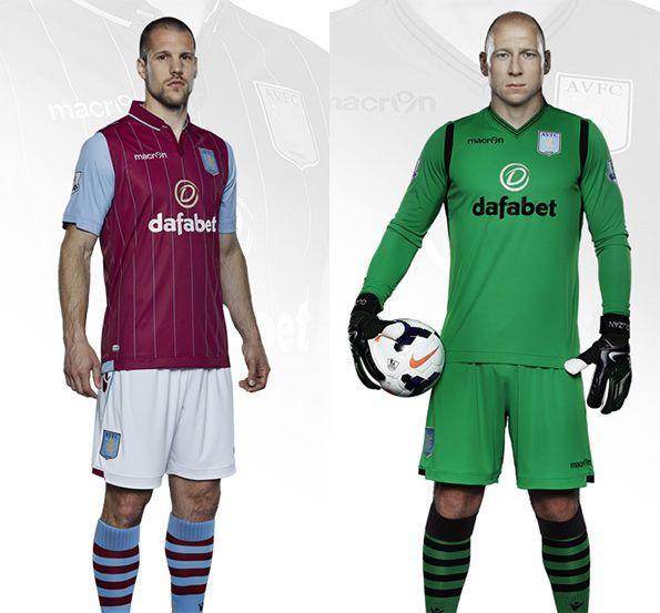 Kit Aston Villa 2014-2015 home