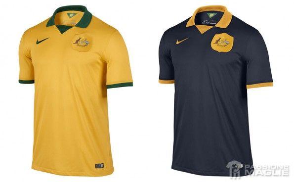 Maglie Australia Mondiali 2014