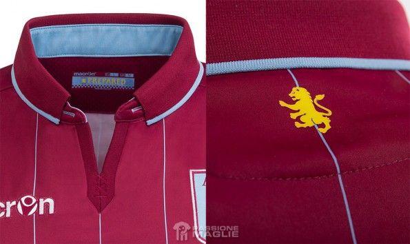 Colletto maglia Aston Villa 2014-2015