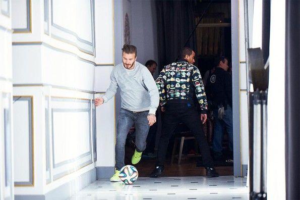 Beckham e Moura nello spot adidas