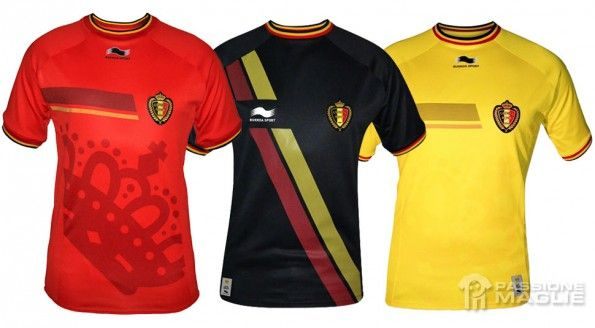 Maglie Belgio Mondiali 2014
