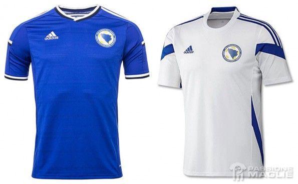 Bosnia maglie Mondiali 2014