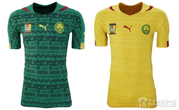 Maglie Camerun Mondiali 2014