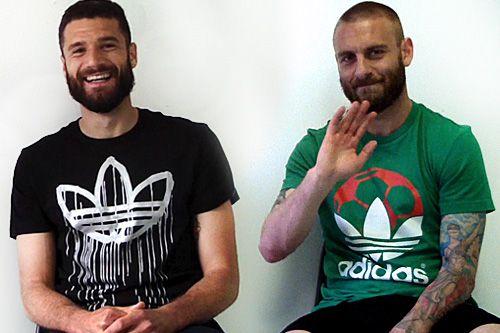 Intervista Candreva e De Rossi