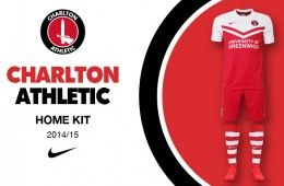 Charlton Athletic kit home 2014-15 Nike
