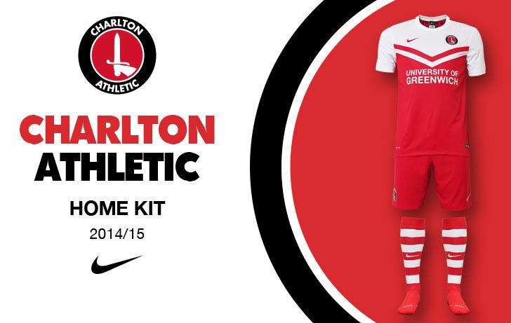 Charlton Athletic kit home 2014-15 Nike