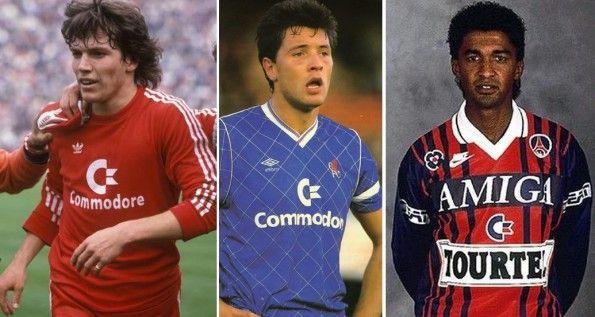 Commodore sulle maglie di Bayern e Chelsea e Amiga su quelle del Pari SG