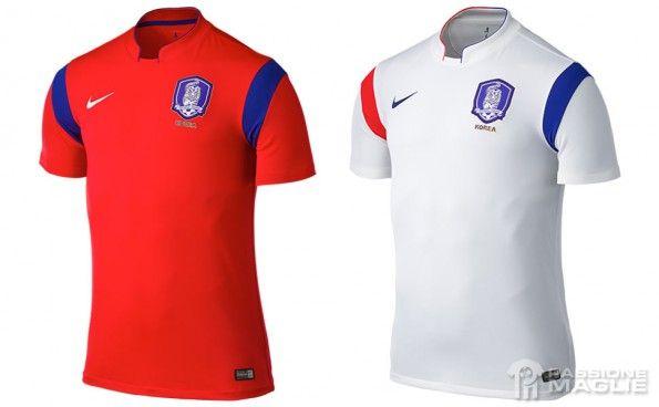 Maglie Corea del Sud Nike Mondiali