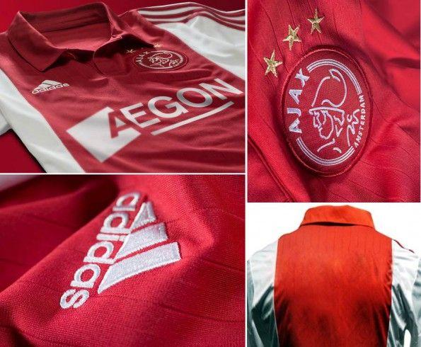 Dettagli prima maglia Ajax 2014-2015