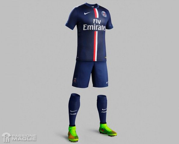 Divisa Paris Saint-Germain 2014-15 Nike