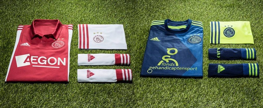Le divise 2014-2015 dell'Ajax