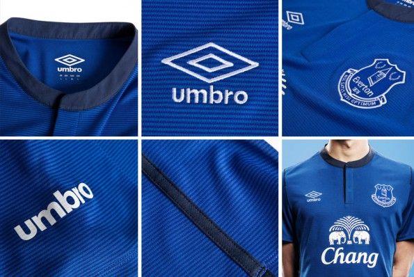 Dettagli Everton kit home 2014-2015