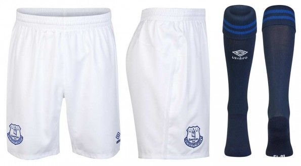 Pantaloncini calzettoni Everton 2014-15 home