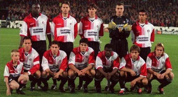 Una formazione del Feyenoord 1997-1998