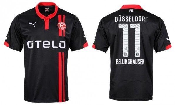 Fortuna Dusseldorf maglia away 2014-15