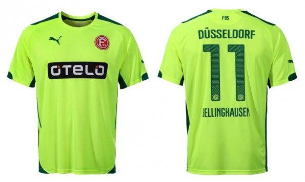 Terza maglia Fortuna Dusseldorf 2014-15