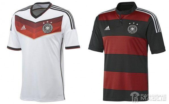 Maglie Germania Mondiali 2014 adidas