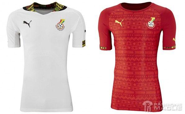 Maglie Ghana Mondiali 2014 Puma